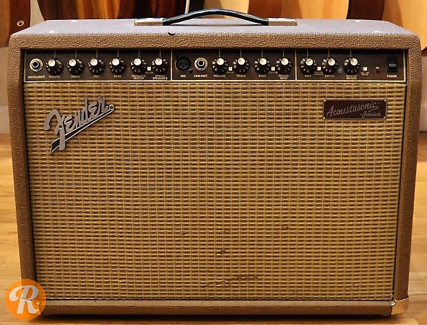 Fender Acoustasonic Junior Dsp Bo With Effects