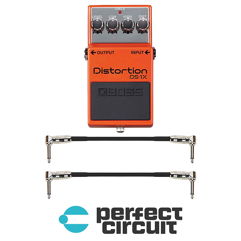 Boss DS-1 Distortion Pedal EFFECTS NEW PERFECT CIRCUIT