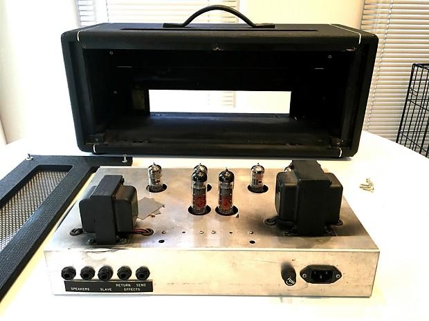 1980s hiwatt lead 20 guitar amp head tube electric amplifier reverb. Black Bedroom Furniture Sets. Home Design Ideas
