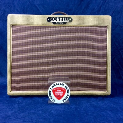 Cornell Romany 12 Reverb 10w Hand Wired Guitar Valve Combo for sale
