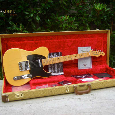 ♚ MINT ♚ FENDER Custom Shop '51 NOCASTER RELIC Telecaster ♚ TIME MACHINE SERIES ♚ 1952 ♚ 6.8LBS! for sale