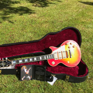 Gibson  Les Paul , Ace Frehley  , Kiss , Budokan , Aged , Signed  2011 Sunburst for sale