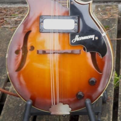 Harmony H35 electric mandolin 1967 Sunburst for sale