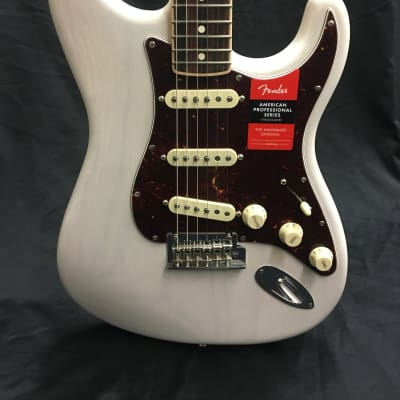 Fender Limited Edition Channel Bound Professional Strat - White Blonde for sale