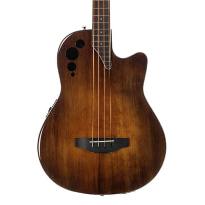 Ovation AEB4-7S Applause Bass Mid Depth in Vintage Varnish acoustic electric Bass guitar