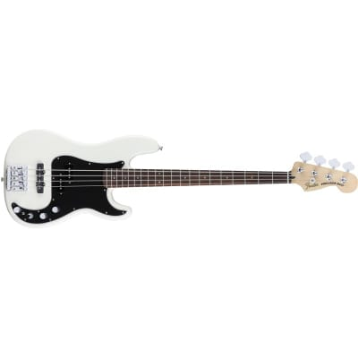 Fender Deluxe Active Precision Bass Special (Olympic White) for sale