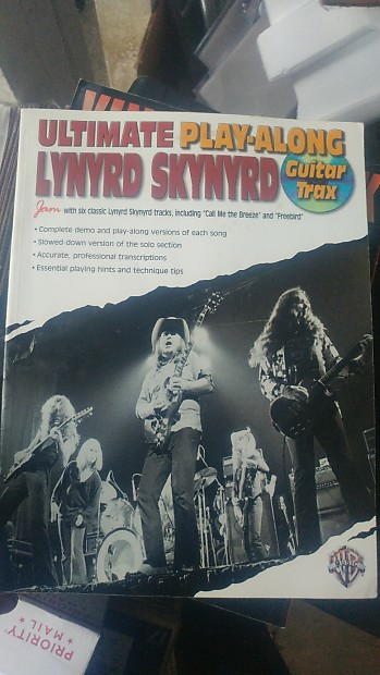Lynyrd Skynyrd Ultimate Play Along Tab Book Missing Cd