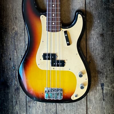 2005 fender Custom Shop '59 RI Precision Bass Sunburst and tweed case for sale