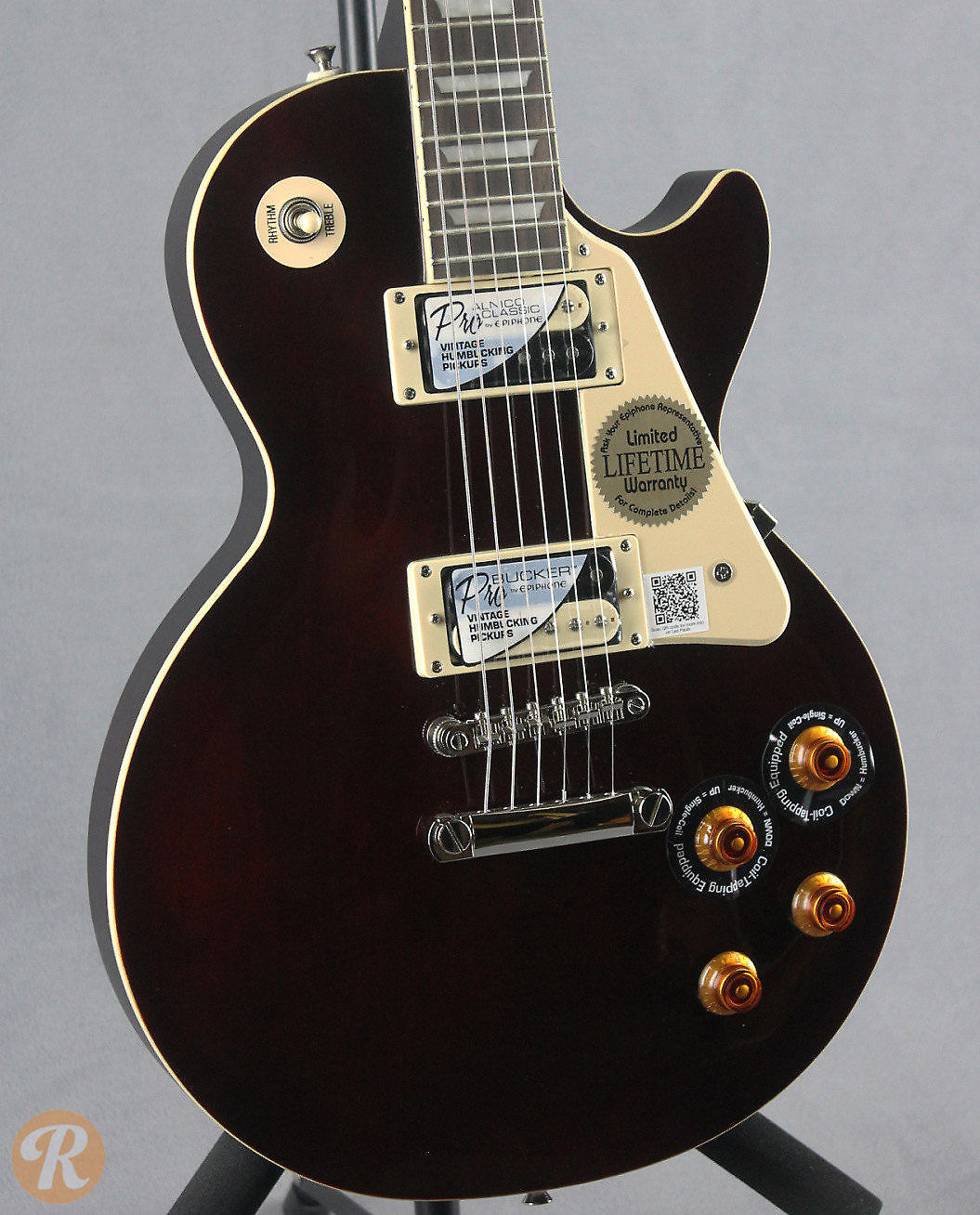epiphone les paul traditional pro wine red reverb. Black Bedroom Furniture Sets. Home Design Ideas