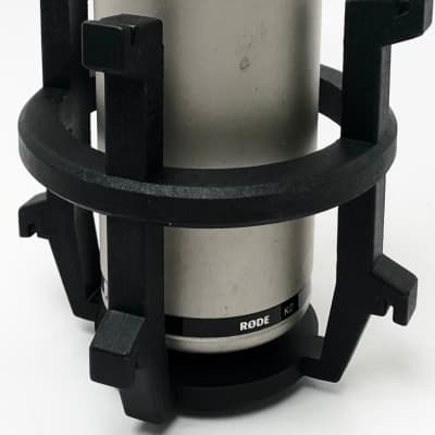 used RODE K2 Variable-Pattern Tube Condenser Microphone with Shock Mount and Amp, Good Condition