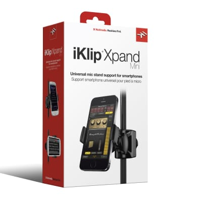 IK Multimedia iKlip Xpand Mini Universal Mic Stand Support : iPhone, iPod touch and Beyond