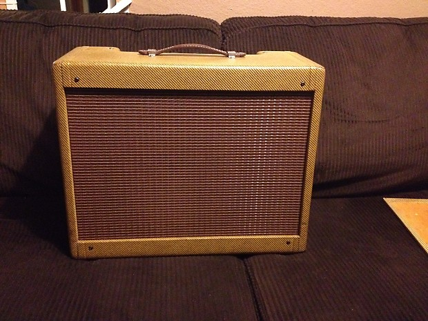 Weber Tweed Deluxe 5e3 handwired guitar amp amplifier Fender 8ohm 1x12  laquered