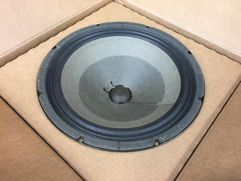 Original Vintage 1978 Fender /Rola 12 8 Ohm Speaker   Reverb