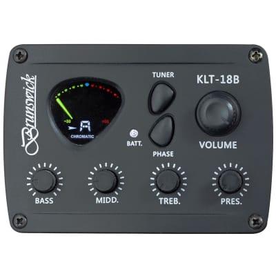 Brunswick BTK50 Electro Acoustic Cutaway - White for sale
