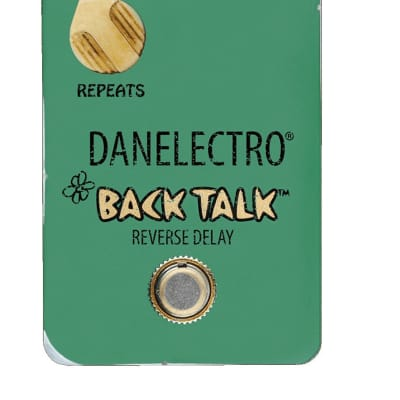 Danelectro Guitar Effect Pedal Back Talk Reverse Delay Pedal True Bypass