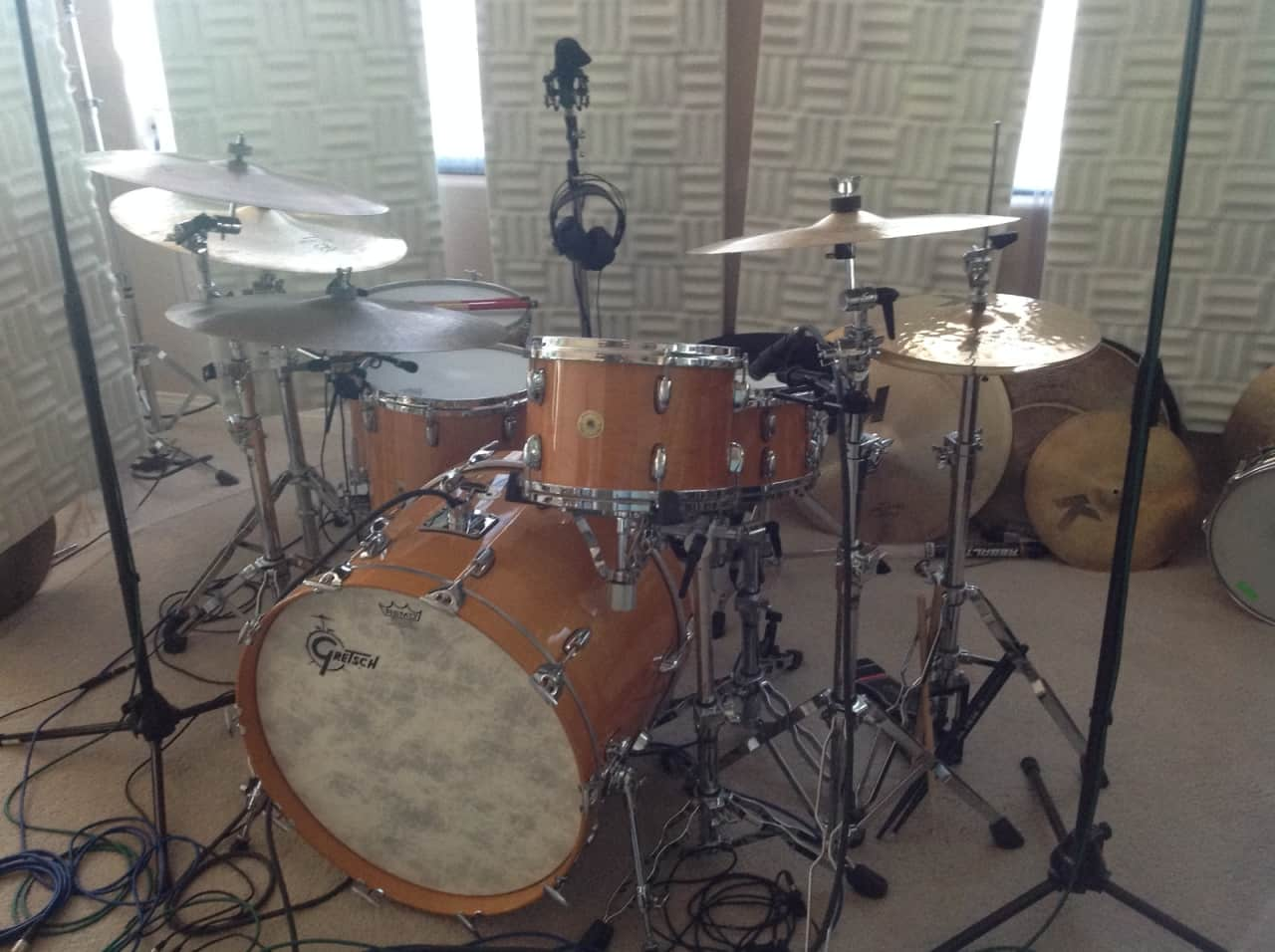 gretsch 125th anniversary rock legend drum kit 2008 reverb. Black Bedroom Furniture Sets. Home Design Ideas