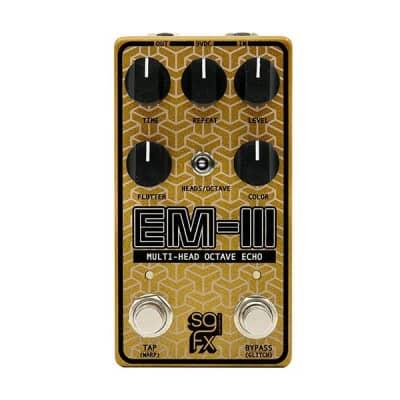 SolidGoldFX EM-III Multi-Head Octave Echo Guitar Effects Pedal