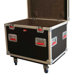 """Gator G-TOURTRK3022HS Truck Pack Trunk 30x22x22"""" w/ Dividers and Casters"""