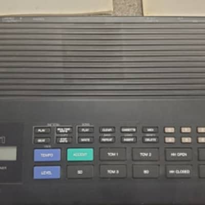 Yamaha RX21 Digital Rhythm Programmer/Drum Machine w/AC adapter