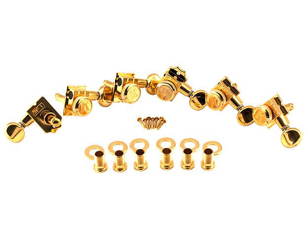 kluson revolution gold h mount locking tuners 19 1 ratio fits reverb. Black Bedroom Furniture Sets. Home Design Ideas