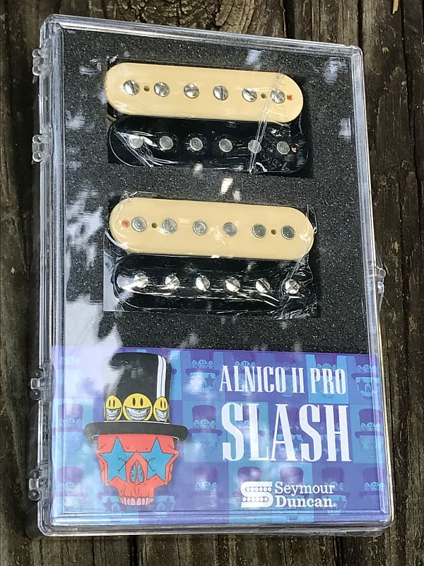 Seymour Duncan Slash APH-2s ZEBRA / REVERSE ZEBRA Alnico II Pro Bridge/Neck Set