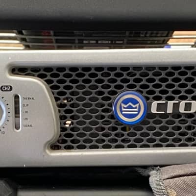 Used - Crown XLS1500 2 Channel Amp for sale
