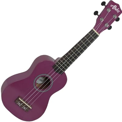 Aloha 200 PU Ukelele soprano color purpura for sale