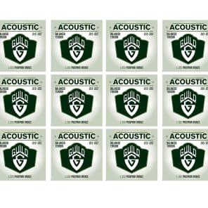 Guild Balanced Tension L-355 Phosphor Bronze Acoustic Strings 12-52
