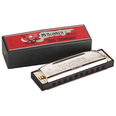 Hohner 34B-BX-Bb Old Standby Harmonica - Key of Bb