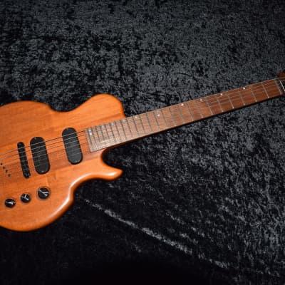 Rare 2002 Ballurio Lingo  Natural Electric Guitar & Hard Case for sale