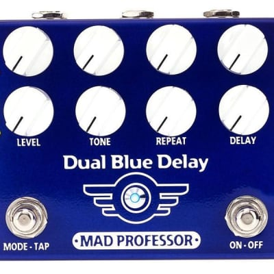 Mad Professor Dual Blue Delay w/ tap temp for sale