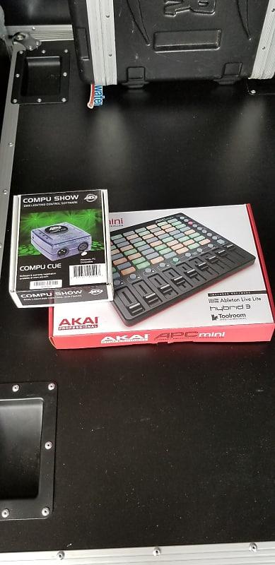 ADJ Compu Show Compu Cue & AKAI APC Mini