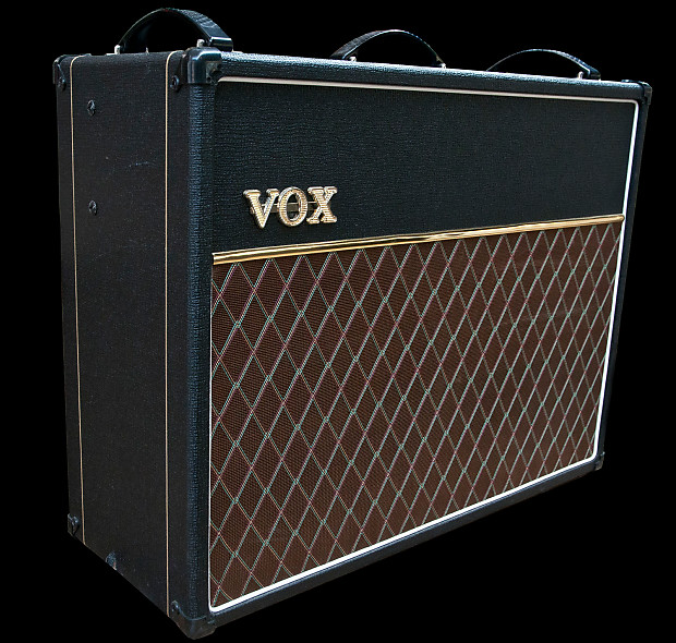 vox ac30c2 30w 2x12 tube guitar combo amp celestion g12m reverb. Black Bedroom Furniture Sets. Home Design Ideas