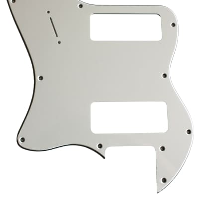 For Fender 3-Ply '72 Telecaster Thinline P90 Guitar Pickguard Scratch Plate, White