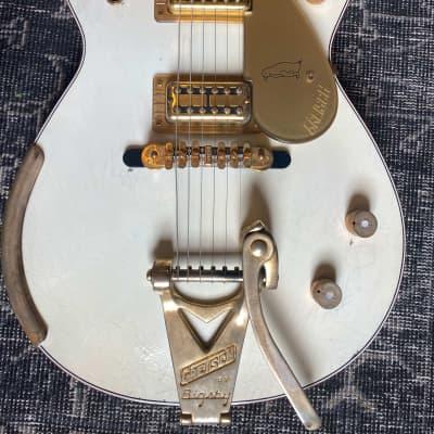 Gretsch Custom Shop Masterbuilt Stephen Stern Penguin  2020 White relic