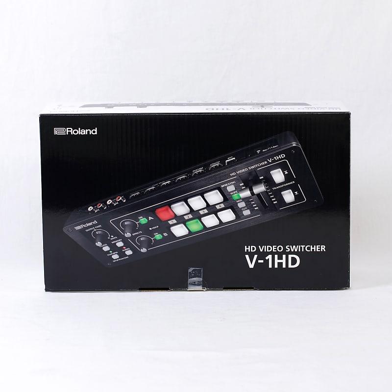 Roland V-1HD-W Video Switcher Web Streaming Bundle