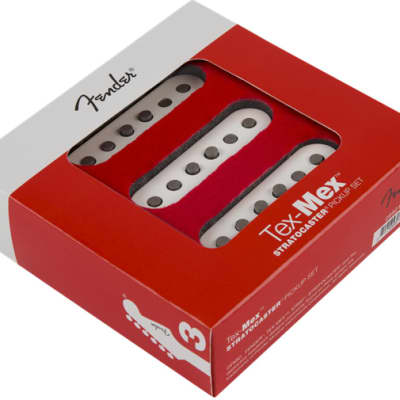 Fender Tex-Mex Stratocaster Pickups Set (3) - White