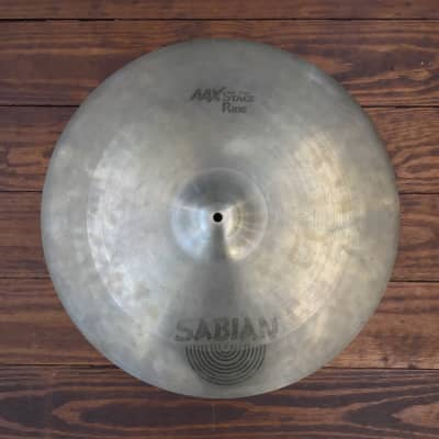 "USED Sabian AAX 21"" Stage Ride Cymbal"