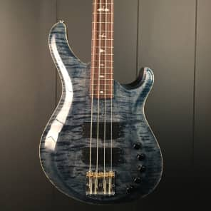 Paul Reed Smith Gary Grainger Signature 4-String Bass with Rosewood Fretboard Faded Whale Blue 2016
