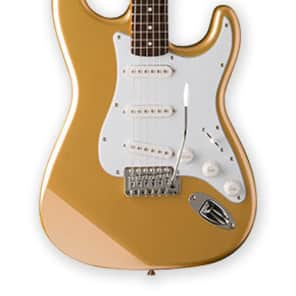 Jay Turser JT-300-SHG 300 Series Double Cutaway 6-String Electric Guitar - Shoreline Gold for sale