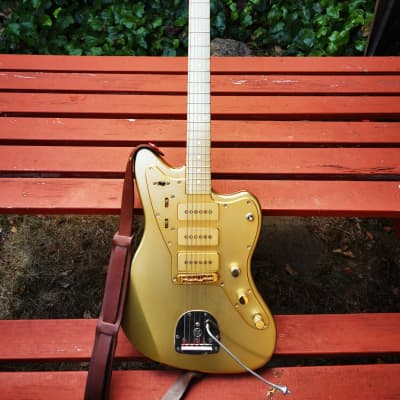 Electrical Guitar Company Jazz master CUSTOM 2013 Anodised GOLD for sale