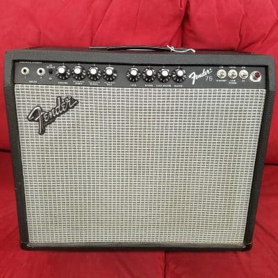 """Fender 75 2-Channel 75-Watt 1x12"""" Guitar Combo 1980 - 1982"""