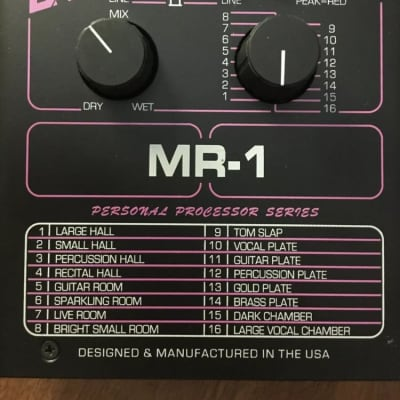 ART MR-1 vintage multi reverb effect processor for sale