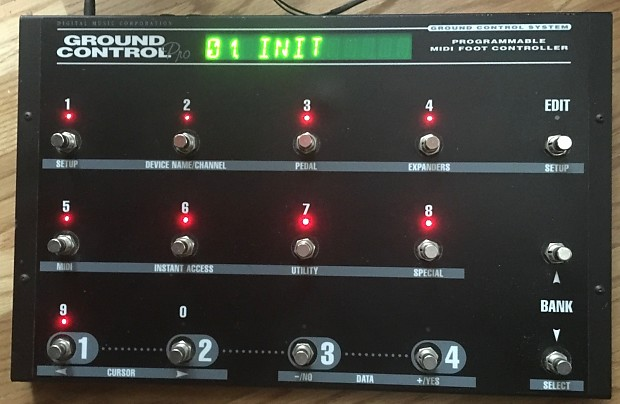 DMC Ground Control Pro Midi Foot Controller | Eric's Boutique
