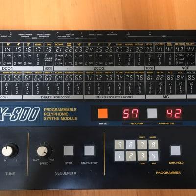 KORG EX-800 analog polyphonic synthesizer module.
