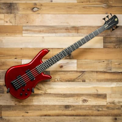 Spector PERF5MRD Performer 5 5-String Electric Bass Guitar Metallic Red Gloss for sale
