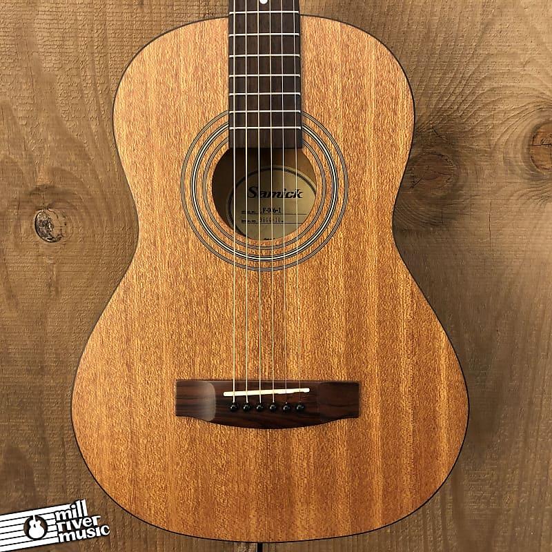 Samick LF-006 Short Scale Parlor Acoustic Guitar Natural