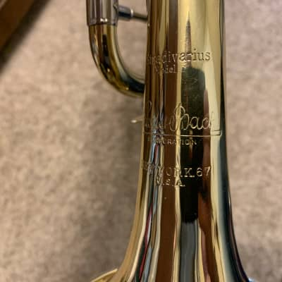 Bach Stradivarius bronx 1947 two-tone bright nickel and lacquered
