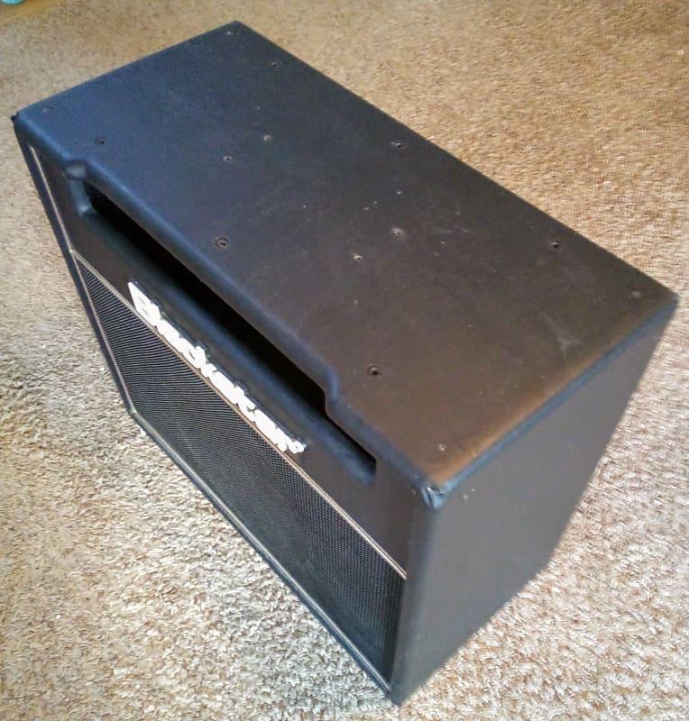 blackstar 1x12 empty combo cabinet black reverb. Black Bedroom Furniture Sets. Home Design Ideas