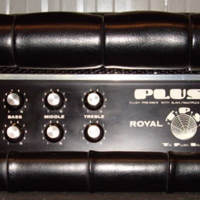 Plush Royal 1060-s 100Watt Tube 1970 for sale